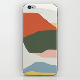 Mountains of Colors iPhone Skin