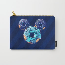 Pop Blue Donut Carry-All Pouch