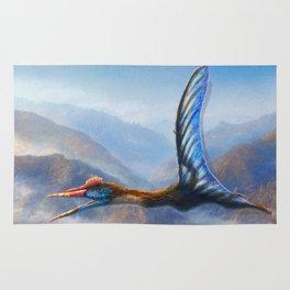 Quetzalcoatlus Northropi Restored Rug