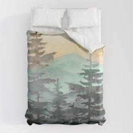 Pine Trees Bettbezug