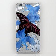 Butterfly II ink by carographic, Carolyn Mielke iPhone & iPod Skin