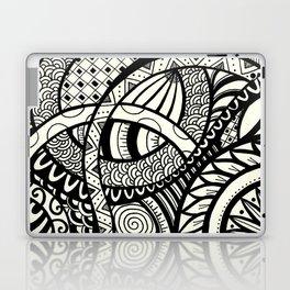 Zentangle design Laptop & iPad Skin