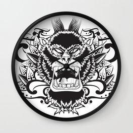 Gorila Wall Clock