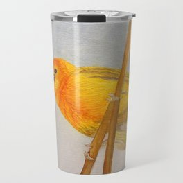 Saffron Finch Travel Mug