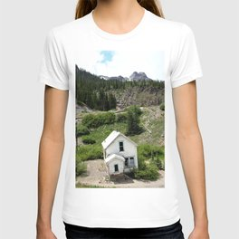 Switchbacks Down from Red Mountain Pass to the Idarado Mine T-shirt