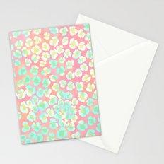 Leopard Pastel Stationery Cards
