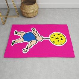 circus artwork, circus illustration, clown pop art, Rug