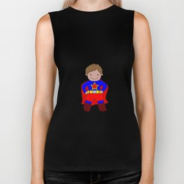 I'm A Super Star Kid Biker Tank