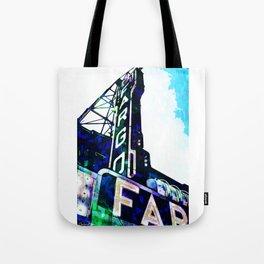 Blue Fargo Theatre Tote Bag
