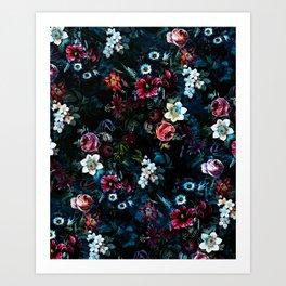 NIGHT GARDEN XI Art Print