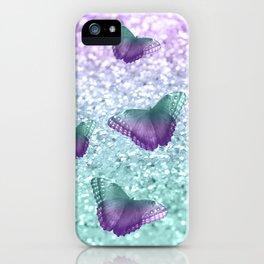 Mermaid Butterfly Glitter Dream #1 #shiny #decor #art #society6 iPhone Case