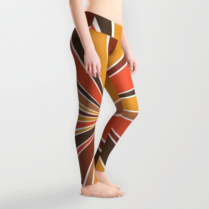 70's Star Burst Leggings