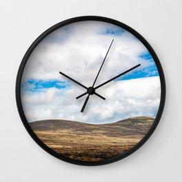 Rolling Irish Hills Wall Clock