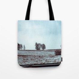 Winter flyby Tote Bag