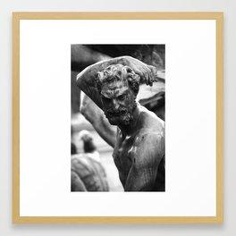Faun 5 Framed Art Print