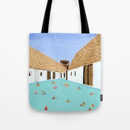 Mexico Pool 1 Tote Bag