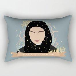 SANA BAKKOUSH Rectangular Pillow