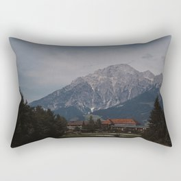 View of Austrian Alps Rectangular Pillow