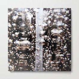 Sanitized Bubbles Metal Print