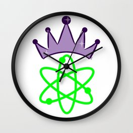 SMART Science Queen - Science Princess Wall Clock