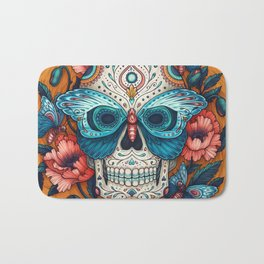 Day of the Dead Bath Mat