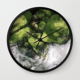 Feel the Wetness in the Air Wall Clock