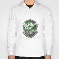 slytherin Hoodies featuring Slytherin Pride by iiNTRIGUE
