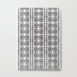 mudcloth no. 3 Metal Print