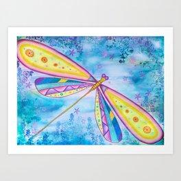 Dragonfly IV Art Print