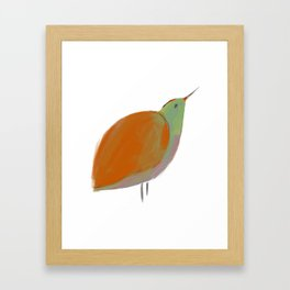 Oiseau1 Framed Art Print