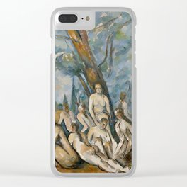 Paul Cezanne - The Large Bathers Clear iPhone Case