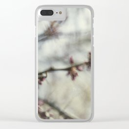Blurred Clear iPhone Case