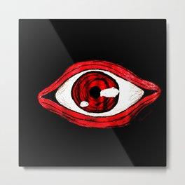 Alucard eye Metal Print
