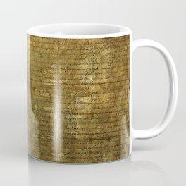 United States Declaration of Independence Coffee Mug