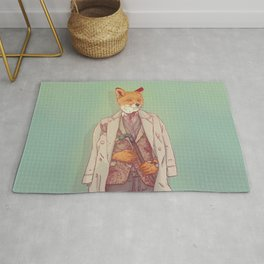 Jay the Fox Rug