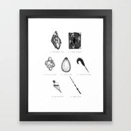 hp artifacts Framed Art Print