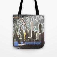 Crowded Skyline Tote Bag