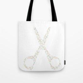 Scissor of Scissors Tote Bag