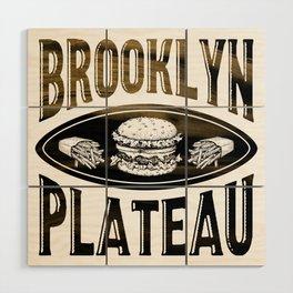 Brooklyn X Plateau - NYC x MTL Wood Wall Art