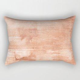 Burly wood hand-drawn aquarelle Rectangular Pillow