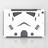 storm trooper iPad Cases featuring Storm Trooper - Starwars by Alex Patterson AKA frigopie76