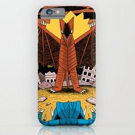 Kaiju Battle! iPhone Case
