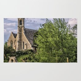 The Church at Clifton Hampden Rug
