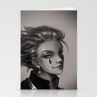 hunter x hunter Stationery Cards featuring Hunter x Hunter Hisoka by Mayadevia