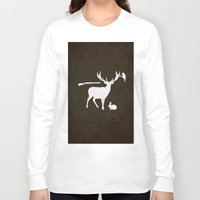hunter Long Sleeve T-shirts featuring Hunter by Julia Brnv
