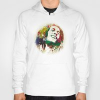 reggae Hoodies featuring Reggae Music Man by Gary Grayson