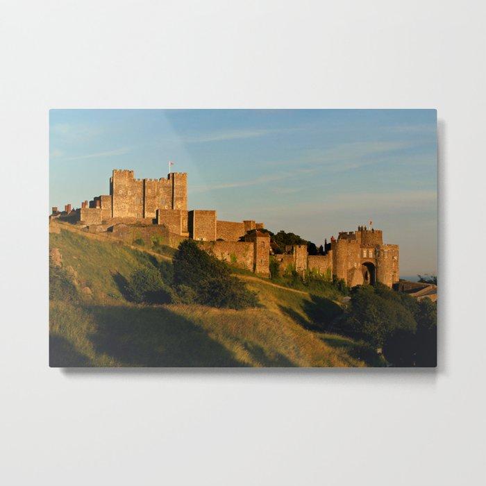 Dover Castle Metal Print