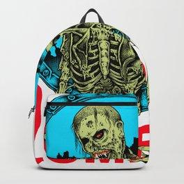 Heavy Metal Zombie Dead Backpack