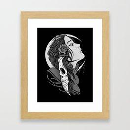 Moon Maiden Framed Art Print