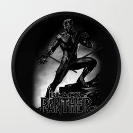 wakanda panther Wall Clock